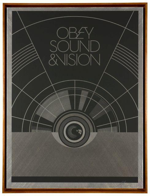 Shepard Fairey-Sound And Vision-2012