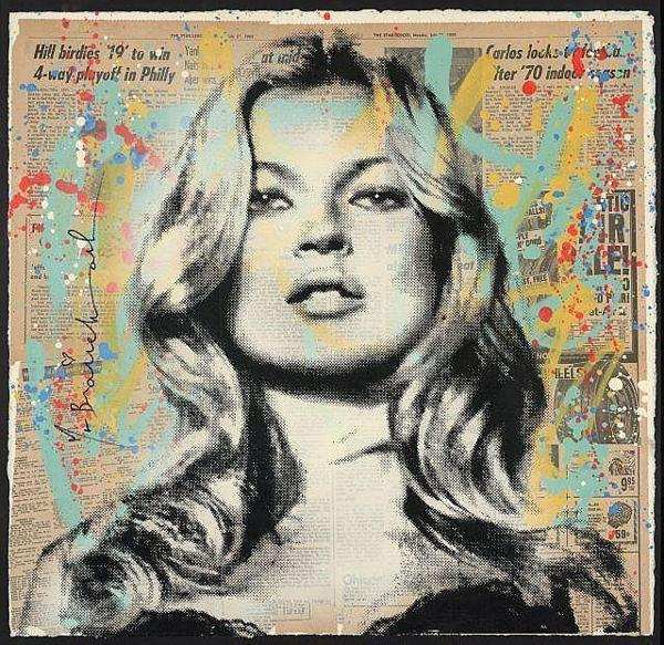 Mr. Brainwash-Kate Moss-2010