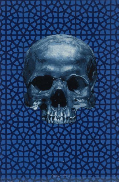 Logan Hicks-Skull (Hand Sprayed Multiple)-2015