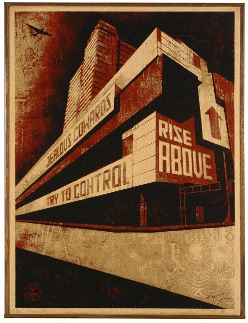 Shepard Fairey-Rise Above-2010