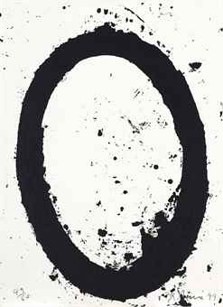 Richard Serra-Moca Print, From The Moca Portfolio-1999