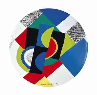 Sonia Delaunay-Rythmes Circulaires-1979