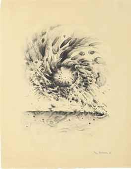 Lee Bontecou-Third Stone-1963