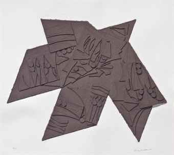 Louise Nevelson-Night Star-1981