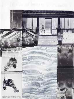 Robert Rauschenberg-American Pewter With Burroughs Iv, From American Pewter With Burroughs-1981