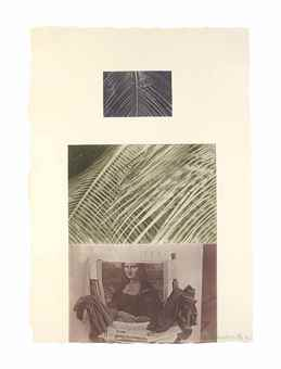 Robert Rauschenberg-Etching V, From The Razorback Bunch-1982