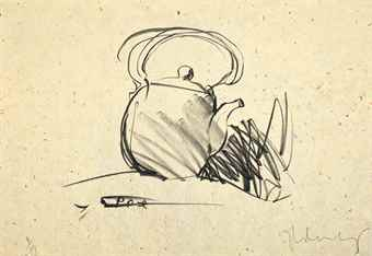 Claes Oldenburg-Teapot-1975