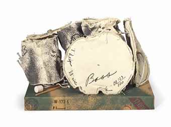 Claes Oldenburg-Miniature Soft Drum Set-1969