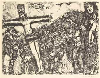 Marc Chagall-Crucifixion-1964