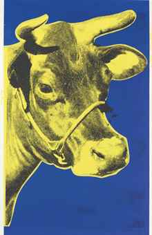 Andy Warhol-Cow-1973