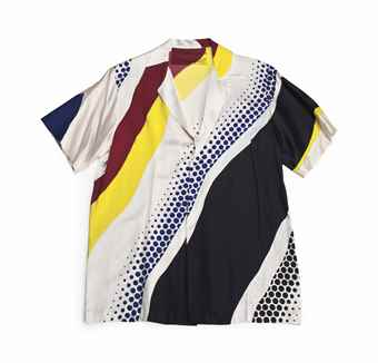Roy Lichtenstein-Untitled Shirt-1979