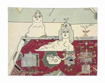 Saul Steinberg-Persian Rug-1970
