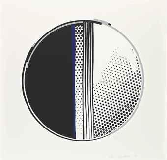 Roy Lichtenstein-Mirror #1, From Mirror Series-1972
