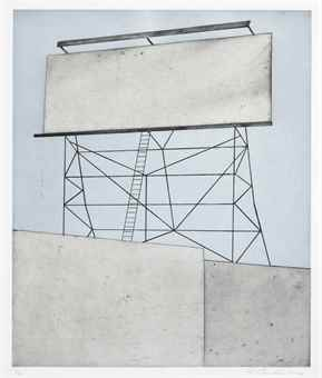 Ed Ruscha-Your Space On Building-2006