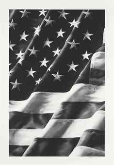 Robert Longo-Old Glory, Left Side-2011