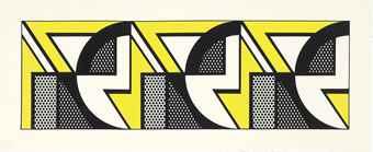 Roy Lichtenstein-Repeated Design-1969