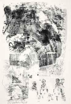 Robert Rauschenberg-Brake, From Stoned Moon Series-1969