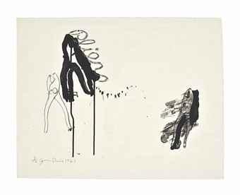 Jim Dine-Pliers-1962