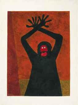 Rufino Tamayo-Protesta-1983