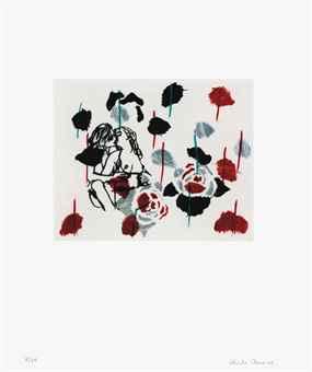 Ghada Amer-Untitled Portfolio: Two Prints-2000