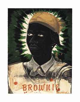 Kerry James Marshall-Brownie-1995