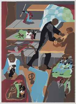 Jacob Lawrence-Memorabilia-1990