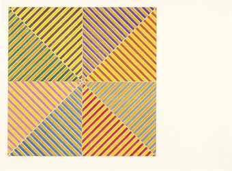 Frank Stella-Sidi Ifni, From Hommage A Picasso-1973