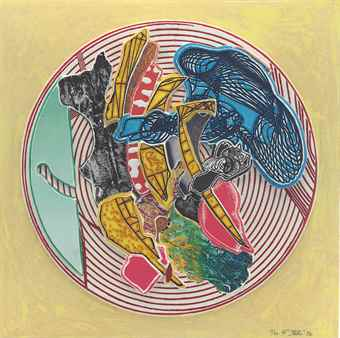 Frank Stella-Egyplosis, From Imaginary Places II-1996