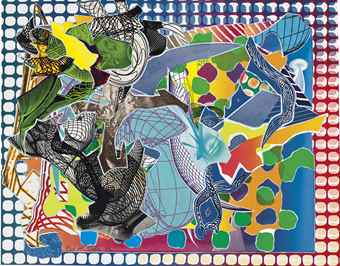 Frank Stella-East Euralia, From Imaginary Places-1995