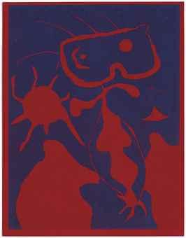 Joan Miro-Xxe Siecle, From Xxe Siecle No 4 (Duthuit 40; Cramer 6)-1938