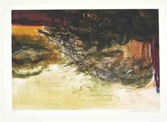 Zao Wou-Ki-Untitled-1978
