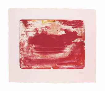Helen Frankenthaler-The Red Sea-1982