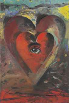 Jim Dine-The Fall From Grace (4Th Version)-1990