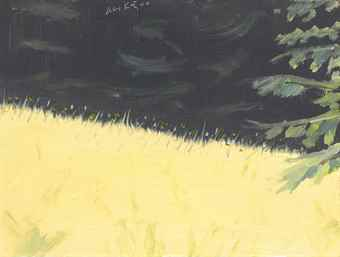Alex Katz-Late Summer-2000