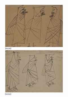 Jean Dubuffet-Trois Bedouins-1948