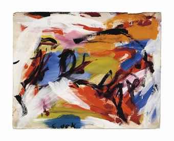 Elaine de Kooning-Faena-1959