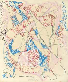 Lee Krasner-Untitled-1965