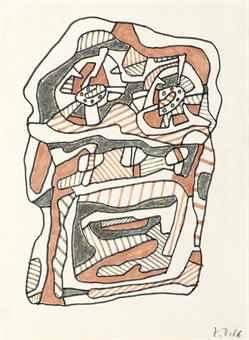 Jean Dubuffet-Rechaud-Four A Gaz II-1966
