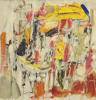 Michael Goldberg-Untitled-1954