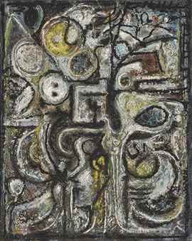 Richard Pousette-Dart-The Tree-1945