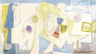 Hans Burkhardt-Children's Washday-1950