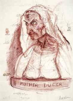 Robert Arneson-Mother Durer-1978