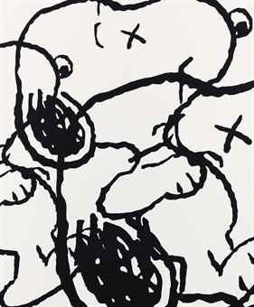 KAWS-Untitled (Mbfg4)-2014
