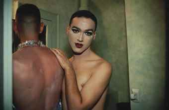 Nan Goldin-Jimmy Paulette And Tabboo! In The Bathroom, Nyc 1991-1991