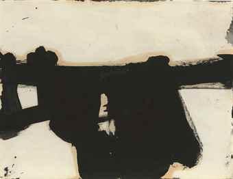 Franz Kline-Untitled-1951