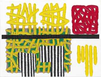 Jonathan Lasker-You Invent The Place-2001