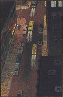 Yvonne Jacquette-29th Street Night View-1979