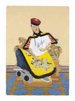 Iona Rozeal Brown-A3 #10 (Down-Ass Emperor Qianlong)-2003
