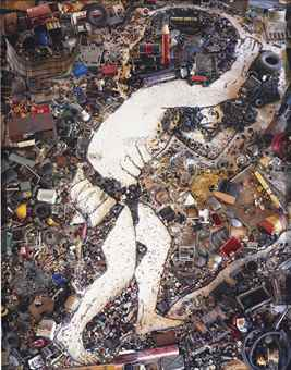 Vik Muniz-Sisyphus, After Tiziano (From Pictures Of Junk)-2005