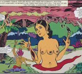 Chitra Ganesh-Her Garden-2006